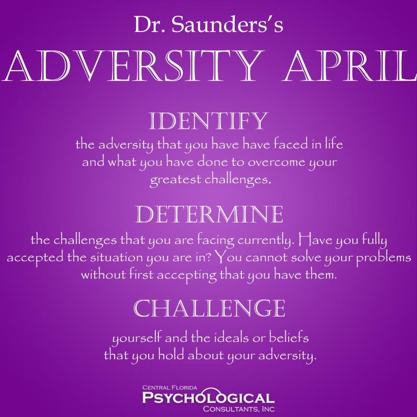 Adversity April.Challenge